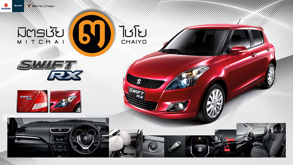 New Suzuki Swift RX