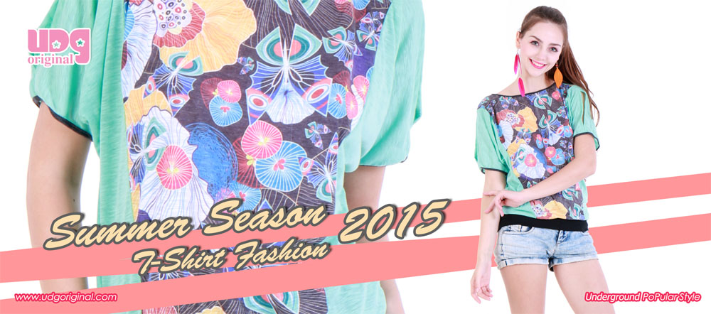 Summer Season T-Shirt Fashion 2015