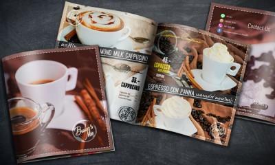 ออกแบบเมนูกาแฟ