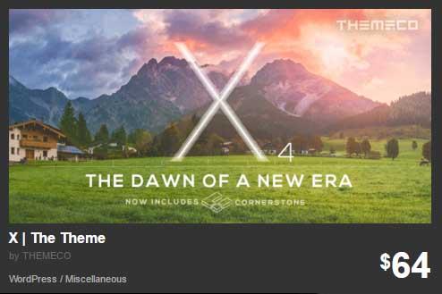 X The Theme